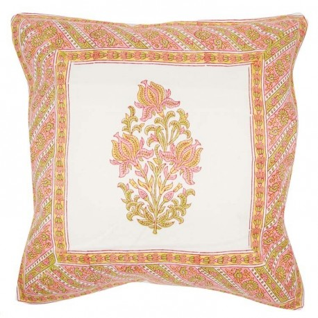 Coussin Pink Mughal