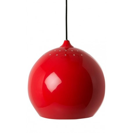 LAMPE DE SUSPENSION ROUGE VINTAGE