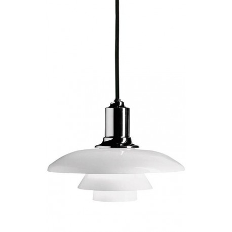 Lampe de Suspension Scandinave Blanche PH 2-1 SUspensions