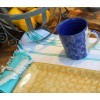 Taza azul oscuro, 10 x 11,5 cm Cerámica