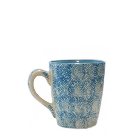 Taza azul celeste, 10 x 11,5 cm Cerámica