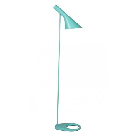Arne Jacobsen AJ Standard Lamp Turquoise Green Lampadaire