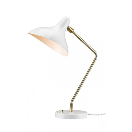 Lampe de table en Blanc Soho Mouille