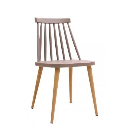 Chaise de design Fanett Grise