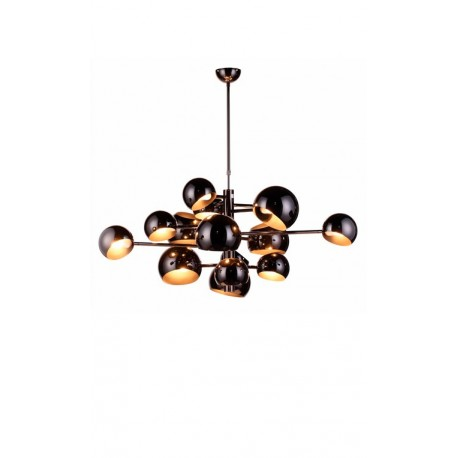 LAMPE DE SUSPENSION NOIRE BEATNIK
