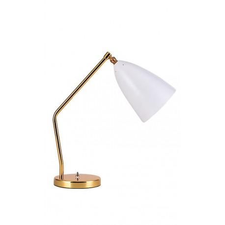 LAMPE À POSER DE TYPE GRASSHOPPER EN BLANC Lampe de table