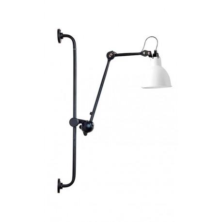 Applique Noire et blanche de style Albin-Gras Luminaires