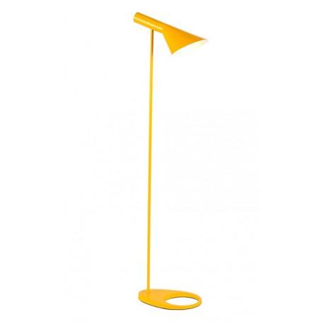 Arne Jacobsen AJ Standard Lamp Yellow Lampadaire
