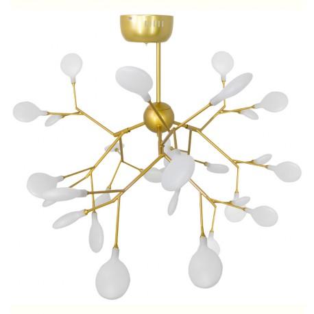Lampe de suspension Moderne Led Infinity Gold SUspensions
