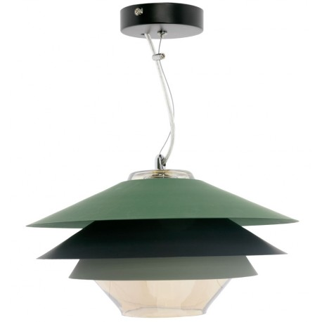 Lampe de suspension Moderne Pier en Vert SUspensions