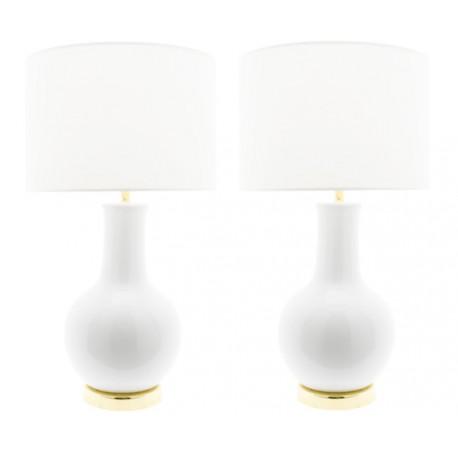 Lampe Céramique Blanche Nicolle