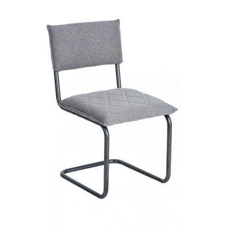 Chaise de design Grise type Bauhaus Francesca Chaises design moderne