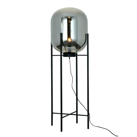 Lampadaire Moderne Stern en Gris