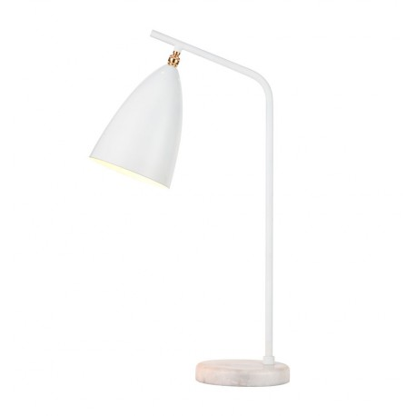 Lampe de table de Design Mirelle Blanche