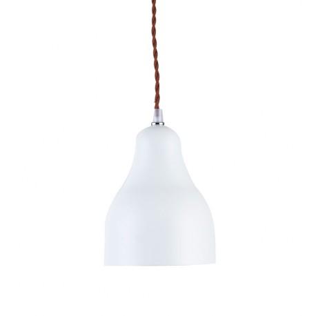 Lampe de suspension Industrielle Norma Blanche en Mat Luminaires