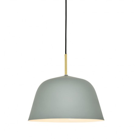 Lampe de suspension Moderne Bari en Gris Luminaires