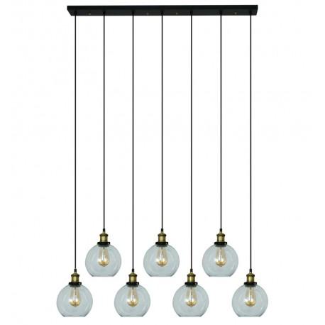 Lampe de suspension en Verre Lumo 7 Éléments Luminaires