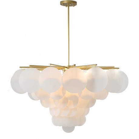 Lampe de suspension Dorée Greta Large Luminaires