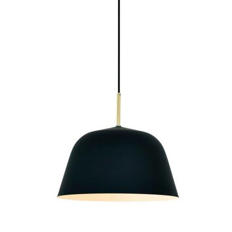 Lampe de suspension Moderne Bari en Mat Noir Luminaires