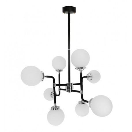 Lampe de suspension en Verre Sintra 6 Éléments SUspensions