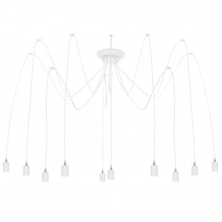 Lampe de suspension Vintage Edison en Blanc SUspensions