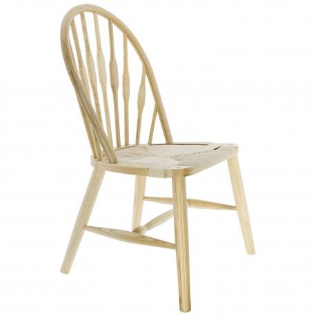 Chaise en bois Windsor avec un Haut dossier Lars Chaises en bois