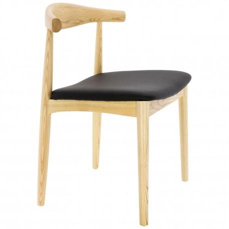 CHAISE DE DESIGN MANILA CH20 Chaises en bois