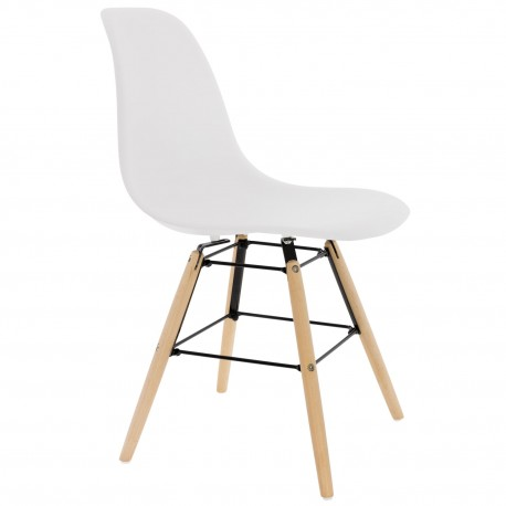CHAISE BLANCHE DE DESIGN KANDEM PRAGUE Chaises design moderne