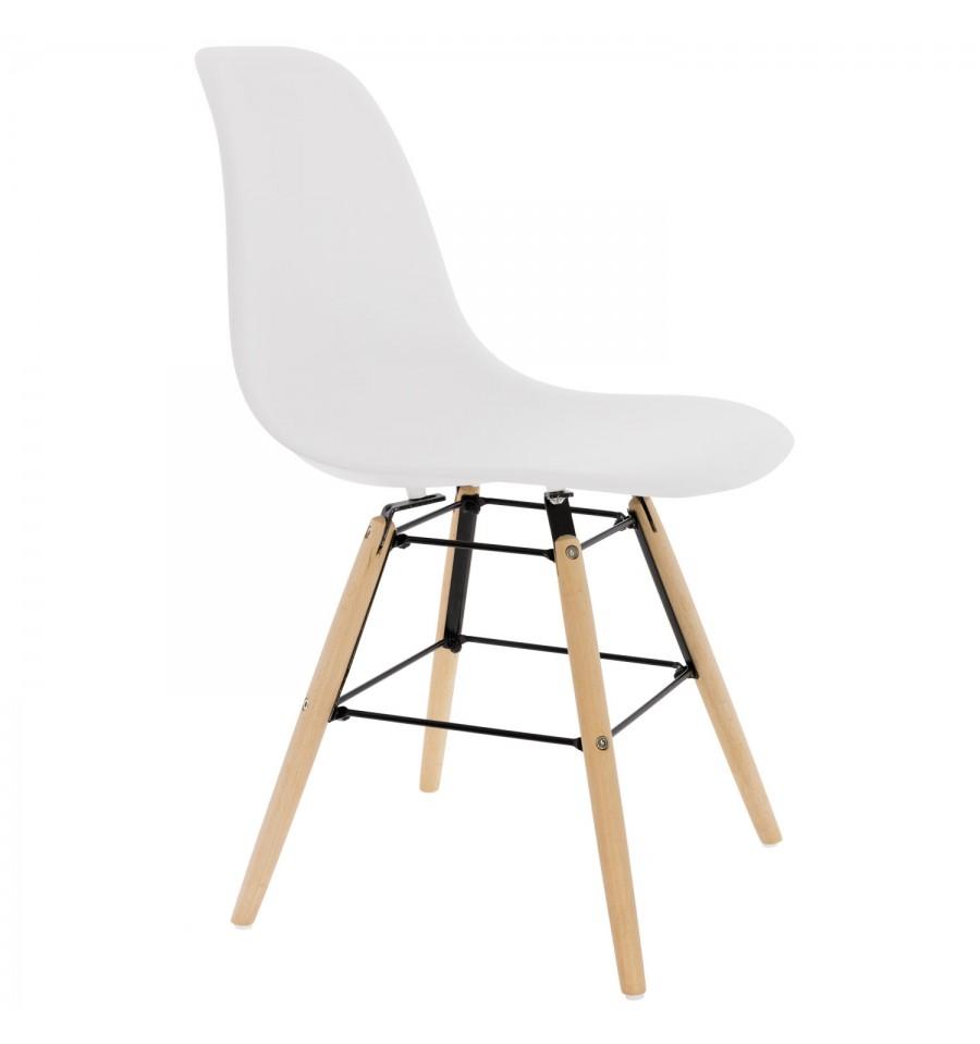 Chaise Blanche Design Kandem Prague - IconsCorner