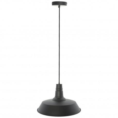 Lámpara de Techo Industrial Berlín Negro Mate
