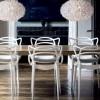Chaise en plastique blanc Phill Chaises design moderne