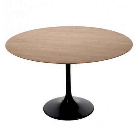 Table à manger ronde AVEC PLATEAU EN BOIS Tables a diner