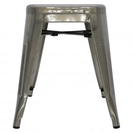 Taburete Metálico Bistro Bar Stool - Mini