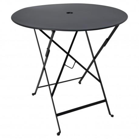 Table noire extérieure pliable Tables a diner