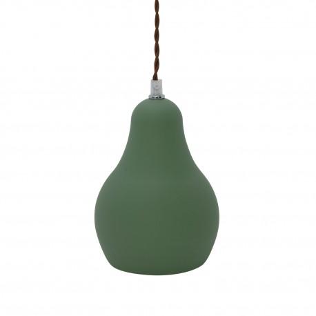 Lampe de suspension Industrielle Norma en Vert Luminaires