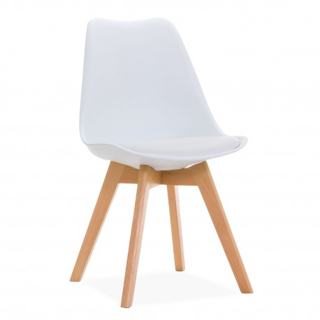 Chaise de Design Blanche Kandem Oslo Chaises design moderne