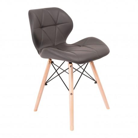 Chaise Kada jambes en bois