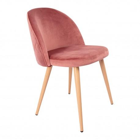 Chaise de design Renard Rosa Velvet Chaises de velours
